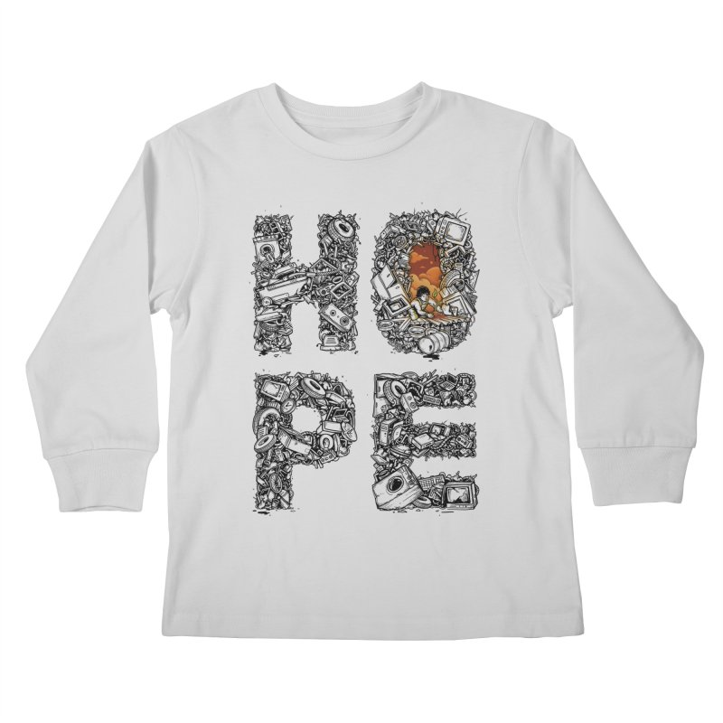 Hope Kids Longsleeve T-Shirt by Adam White's Shop