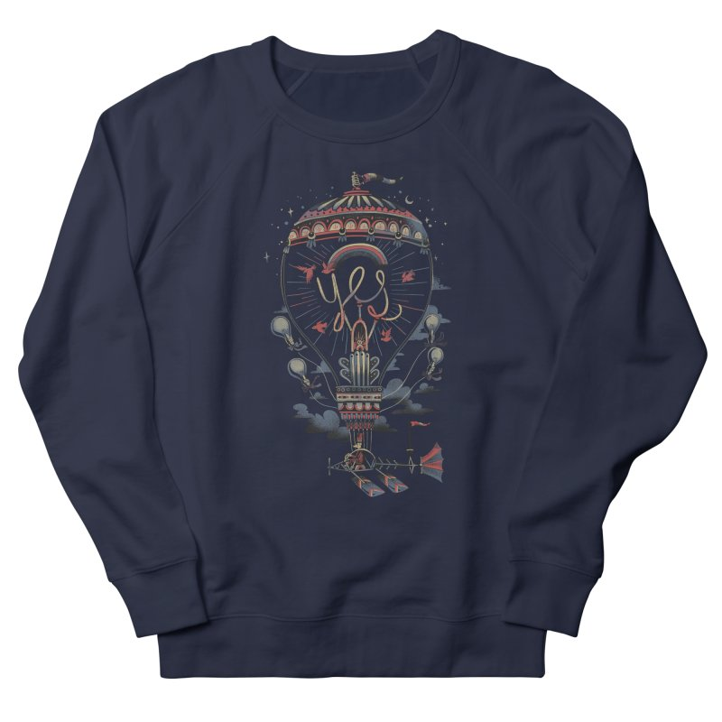 Idea Machine Men's French Terry Sweatshirt by Adam White's Shop
