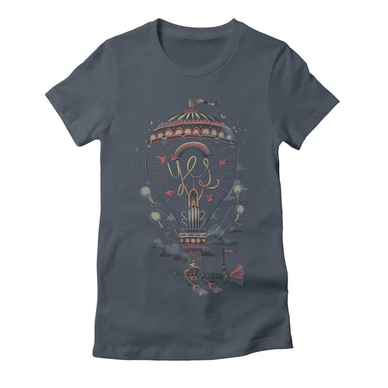 Idea Machine Women's T-Shirt by Adam White's Shop