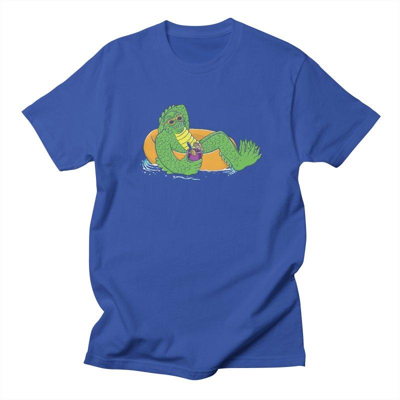 Laid Back Lagoon Men's Regular T-Shirt by Adam White's Shop