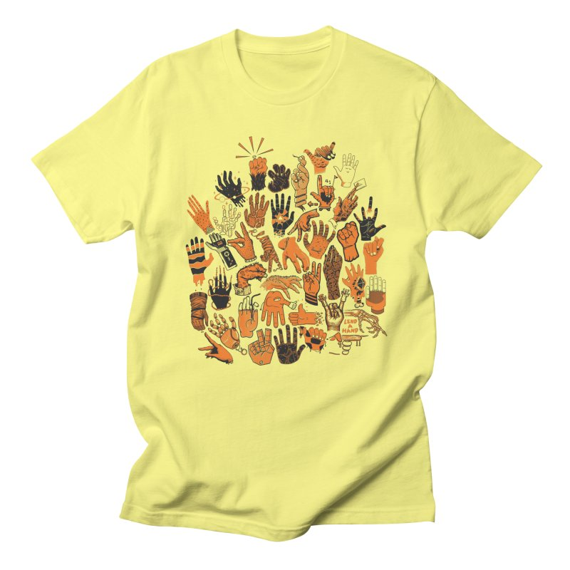 Lend a Hand Men's T-Shirt by Adam White's Shop