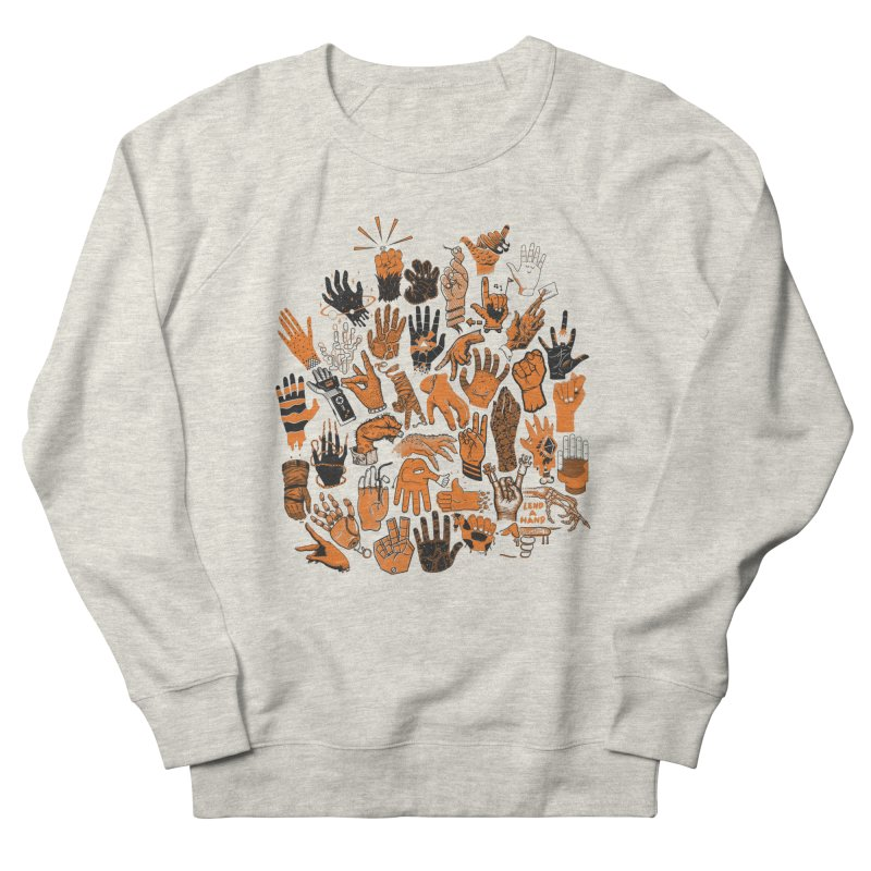 Lend a Hand Men's Sweatshirt by Adam White's Shop