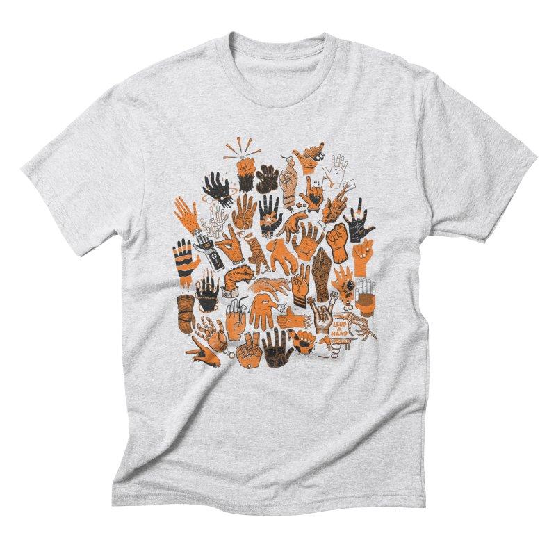 Lend a Hand Men's T-Shirt by Adam White's Shop