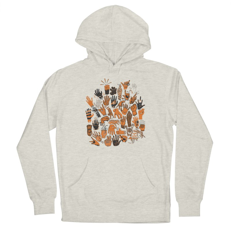 Lend a Hand Men's Pullover Hoody by Adam White's Shop