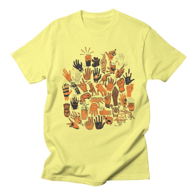 Lend a Hand Men's Regular T-Shirt by Adam White's Shop