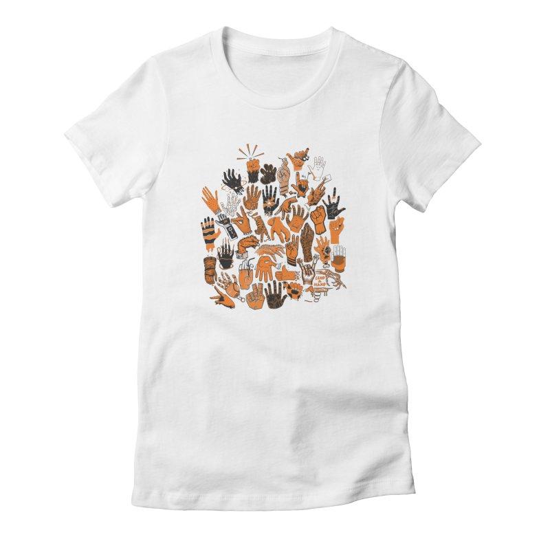 Lend a Hand Women's T-Shirt by Adam White's Shop