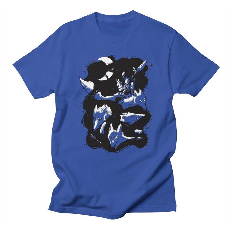 Moonlit Hunt Men's T-Shirt by Adam White's Shop