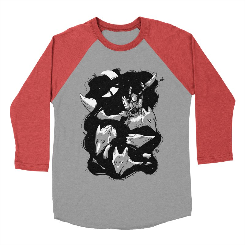 Moonlit Hunt Men's Baseball Triblend Longsleeve T-Shirt by Adam White's Shop