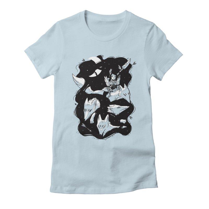 Moonlit Hunt Women's T-Shirt by Adam White's Shop
