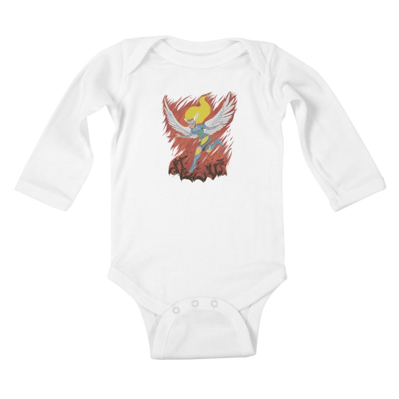 Peace During War Kids Baby Longsleeve Bodysuit by Adam White's Shop