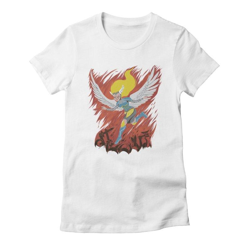 Peace During War Women's T-Shirt by Adam White's Shop