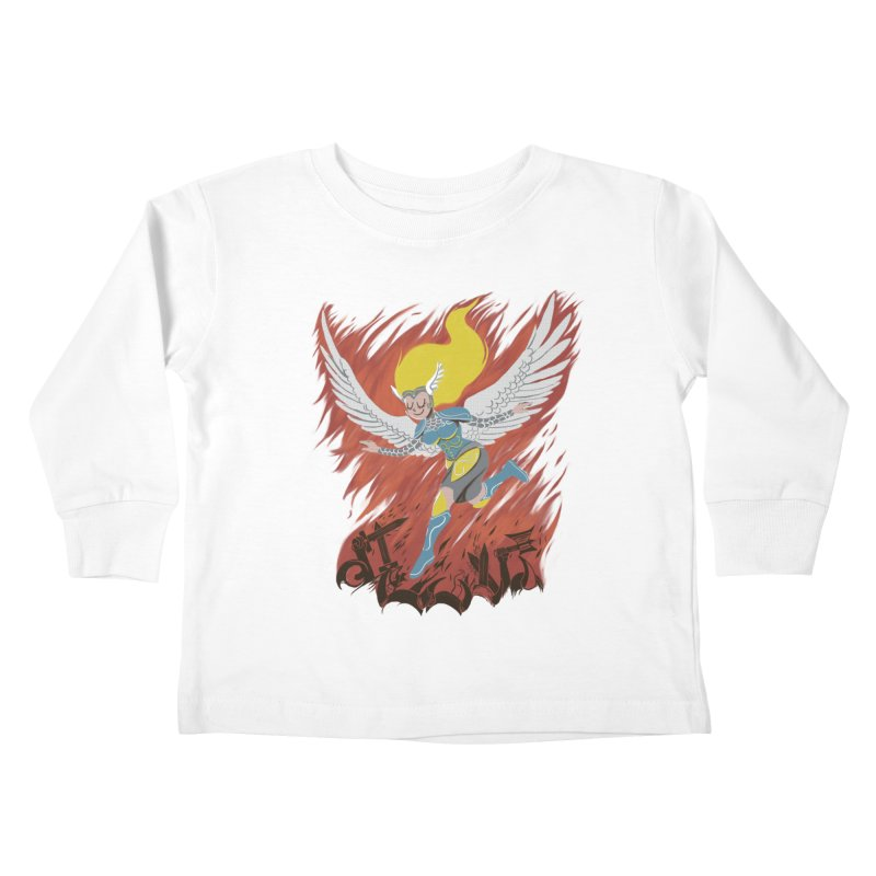Peace During War Kids Toddler Longsleeve T-Shirt by Adam White's Shop