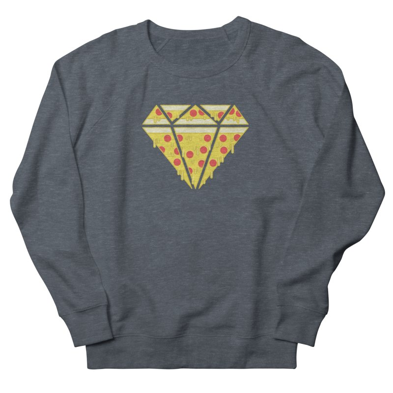 Pizzas are Forever Men's French Terry Sweatshirt by Adam White's Shop