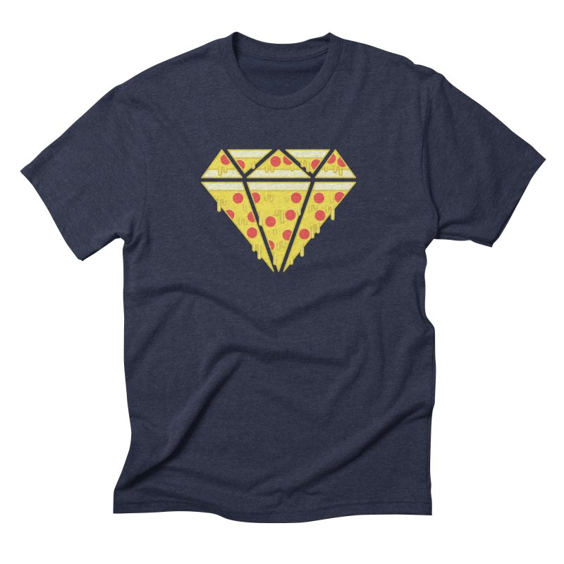 Pizzas are Forever Men's Triblend T-Shirt by Adam White's Shop