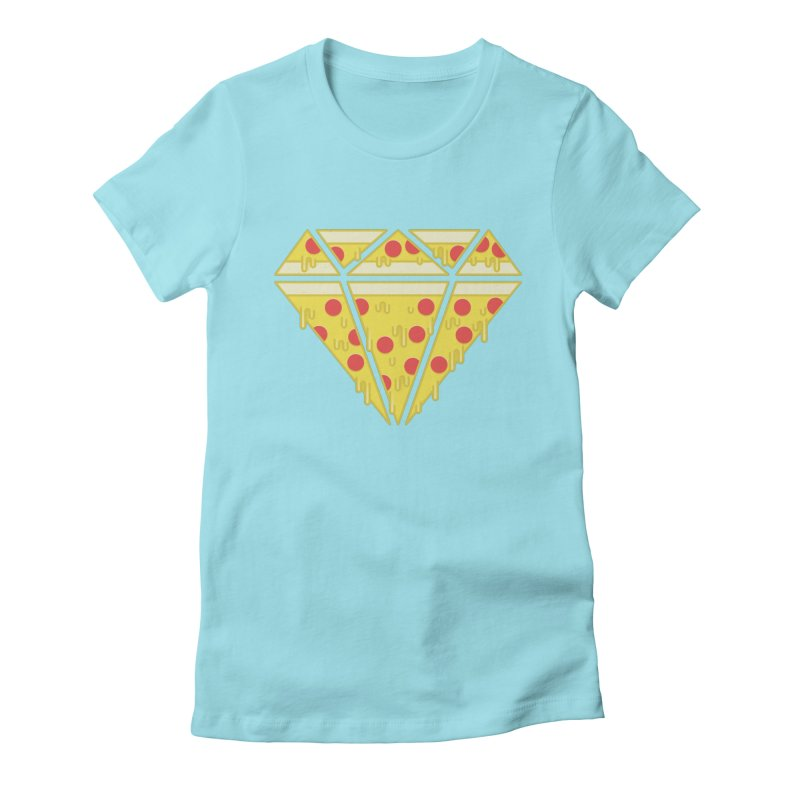 Pizzas are Forever Women's Fitted T-Shirt by Adam White's Shop