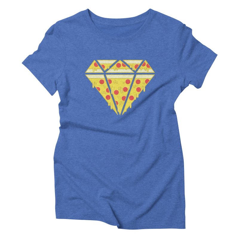 Pizzas are Forever Women's Triblend T-shirt by Adam White's Shop