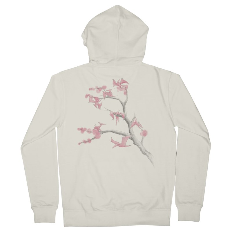 Ptiny Pterosaurs Women's Zip-Up Hoody by Adam White's Shop