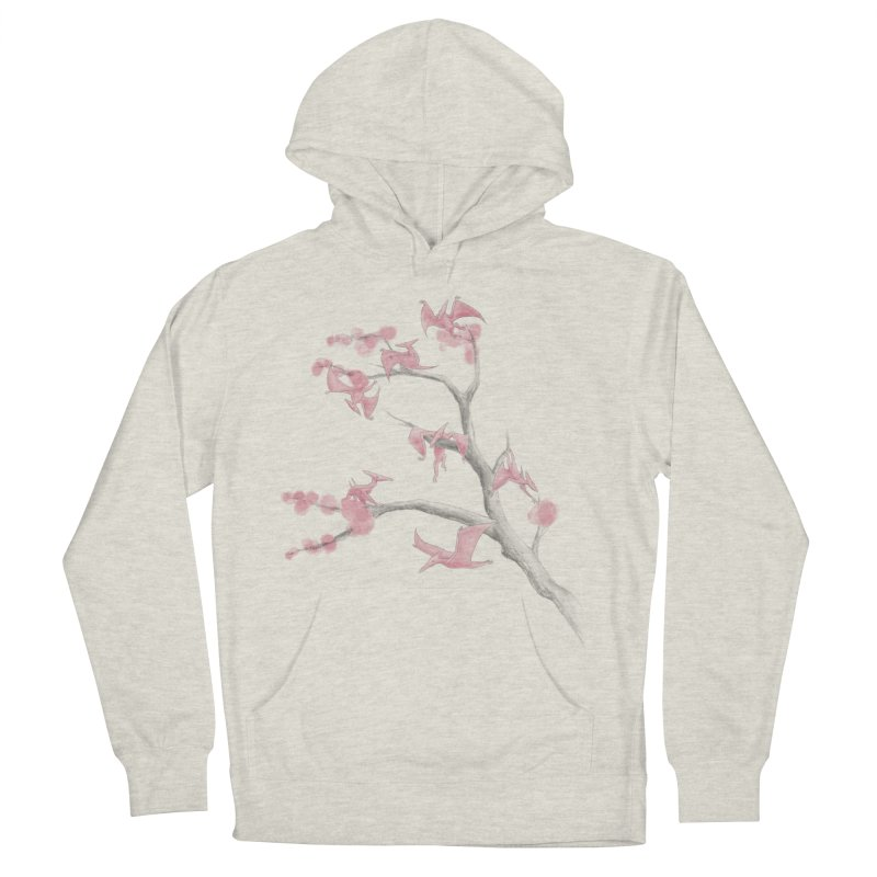 Ptiny Pterosaurs Men's French Terry Pullover Hoody by Adam White's Shop