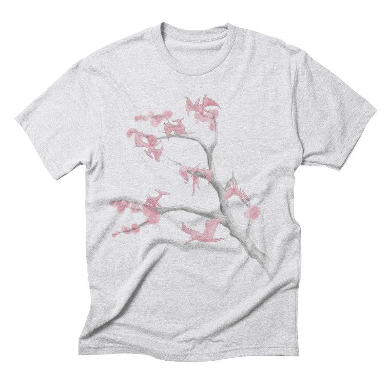 Ptiny Pterosaurs Men's Triblend T-shirt by Adam White's Shop