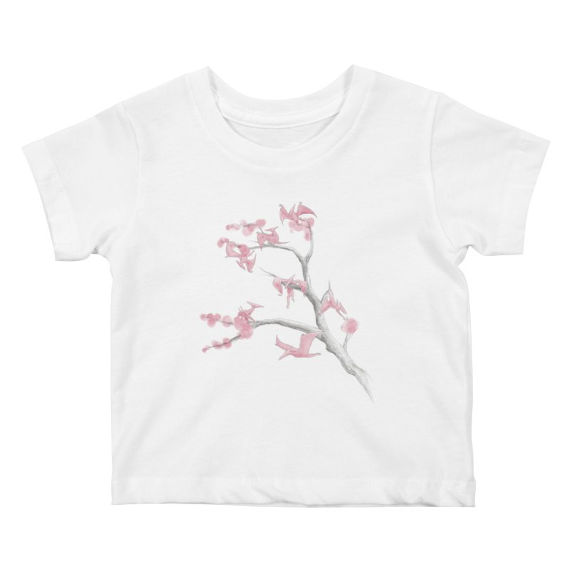Ptiny Pterosaurs Kids Baby T-Shirt by Adam White's Shop