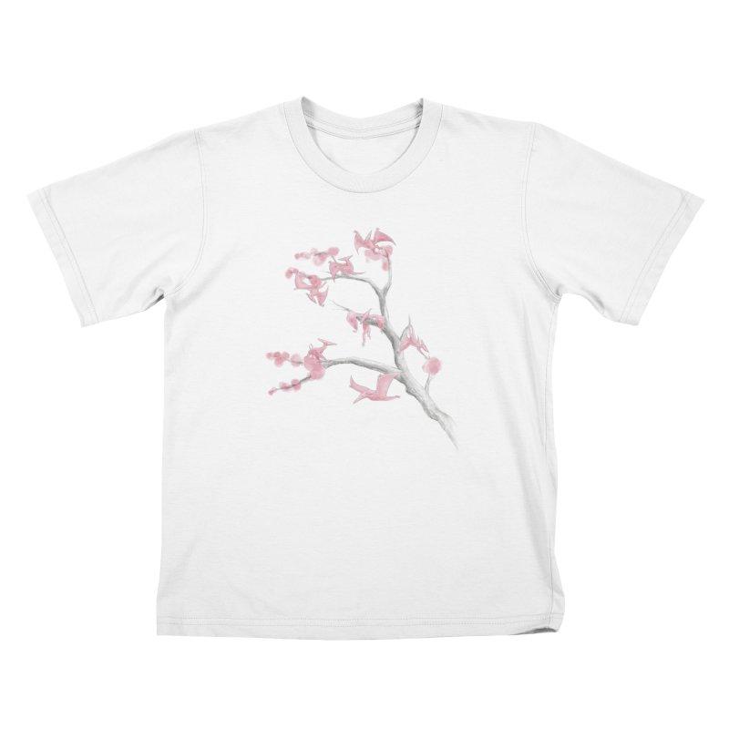 Ptiny Pterosaurs Kids T-Shirt by Adam White's Shop
