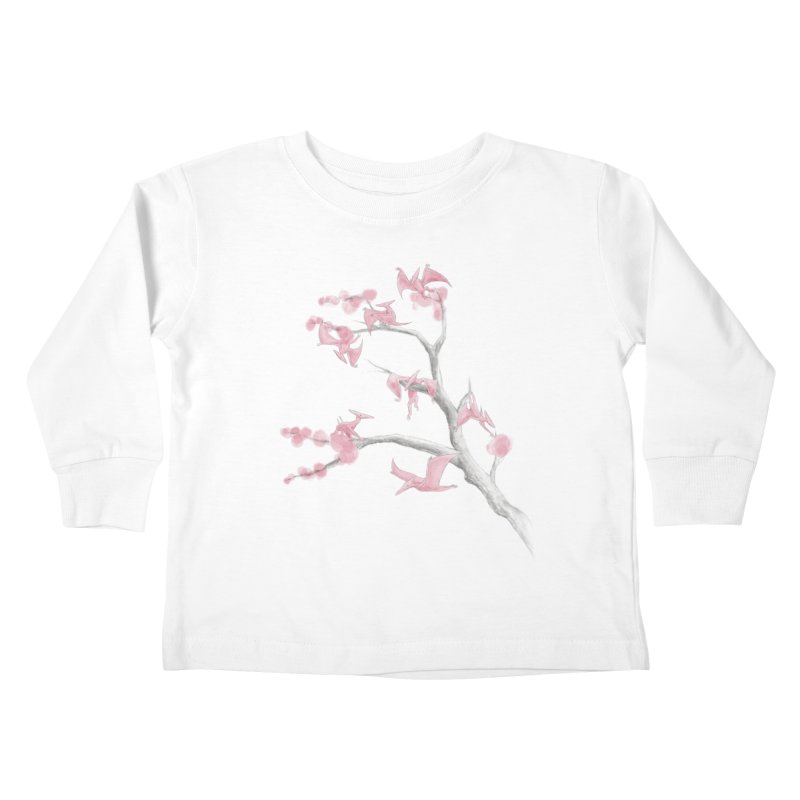 Ptiny Pterosaurs Kids Toddler Longsleeve T-Shirt by Adam White's Shop