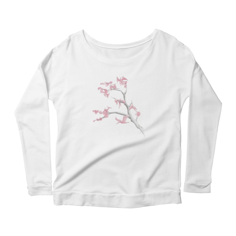 Ptiny Pterosaurs Women's Longsleeve T-Shirt by Adam White's Shop