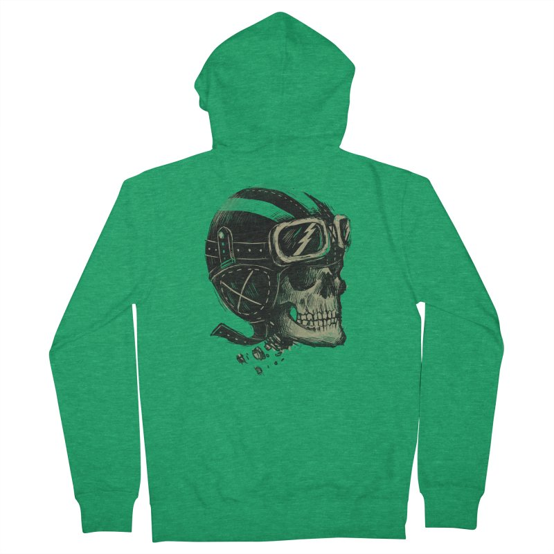 Ride or Die Men's Zip-Up Hoody by Adam White's Shop
