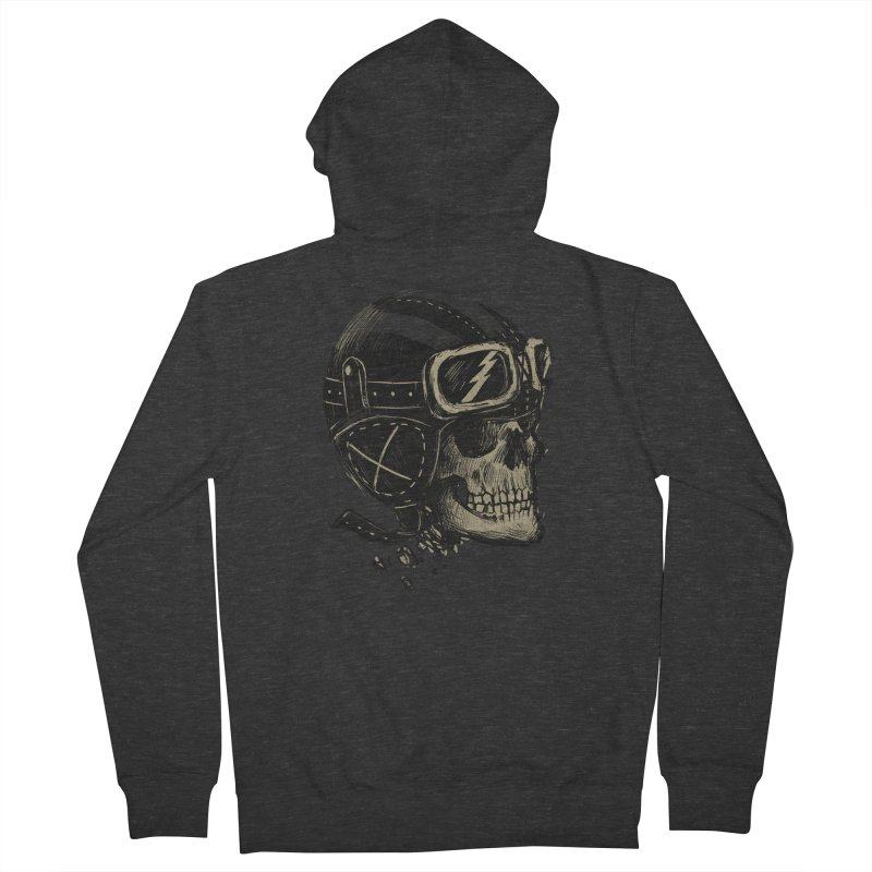 Ride or Die Men's French Terry Zip-Up Hoody by Adam White's Shop
