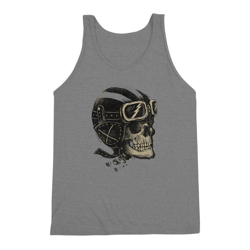 Ride or Die Men's Triblend Tank by Adam White's Shop