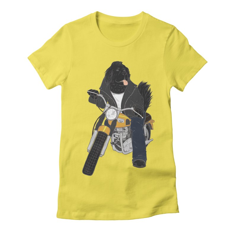 Ruff Rider Women's Fitted T-Shirt by Adam White's Shop