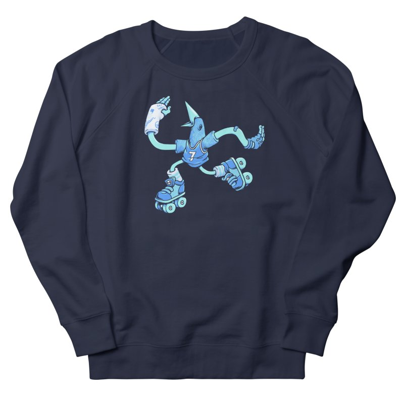 Skatebird Women's French Terry Sweatshirt by Adam White's Shop