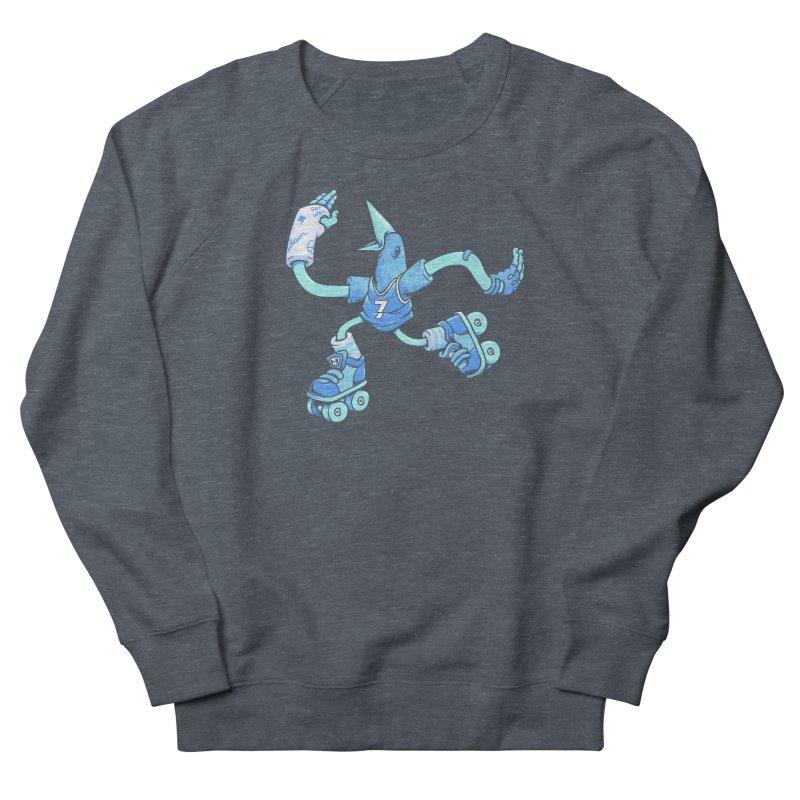 Skatebird Men's French Terry Sweatshirt by Adam White's Shop