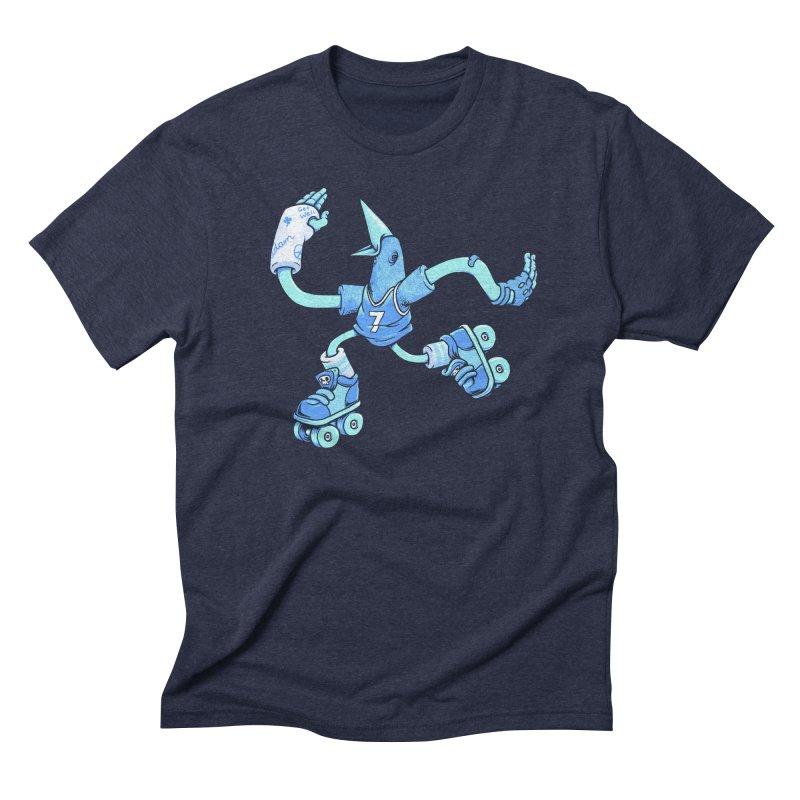 Skatebird Men's Triblend T-shirt by Adam White's Shop