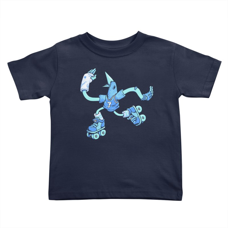Skatebird Kids Toddler T-Shirt by Adam White's Shop