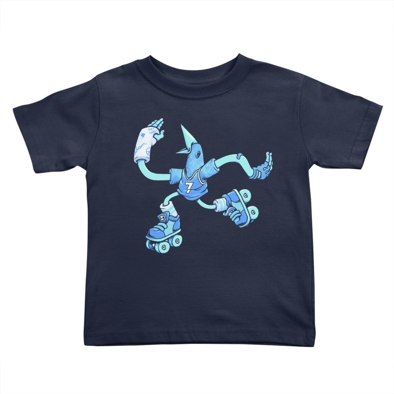 Skatebird Kids Toddler T-Shirt by Adam White's Shop