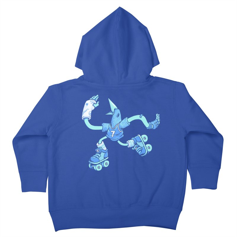 Skatebird Kids Toddler Zip-Up Hoody by Adam White's Shop
