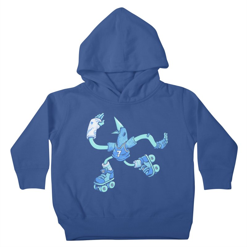 Skatebird Kids Toddler Pullover Hoody by Adam White's Shop
