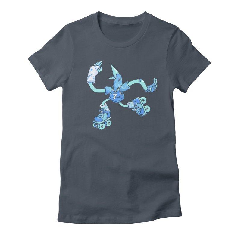 Skatebird Women's T-Shirt by Adam White's Shop