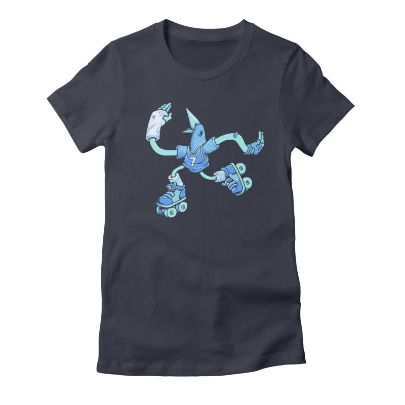Skatebird Women's Fitted T-Shirt by Adam White's Shop