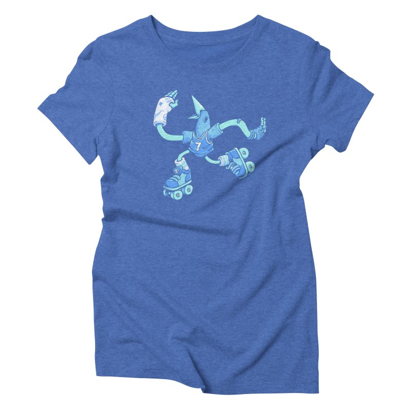 Skatebird Women's Triblend T-Shirt by Adam White's Shop