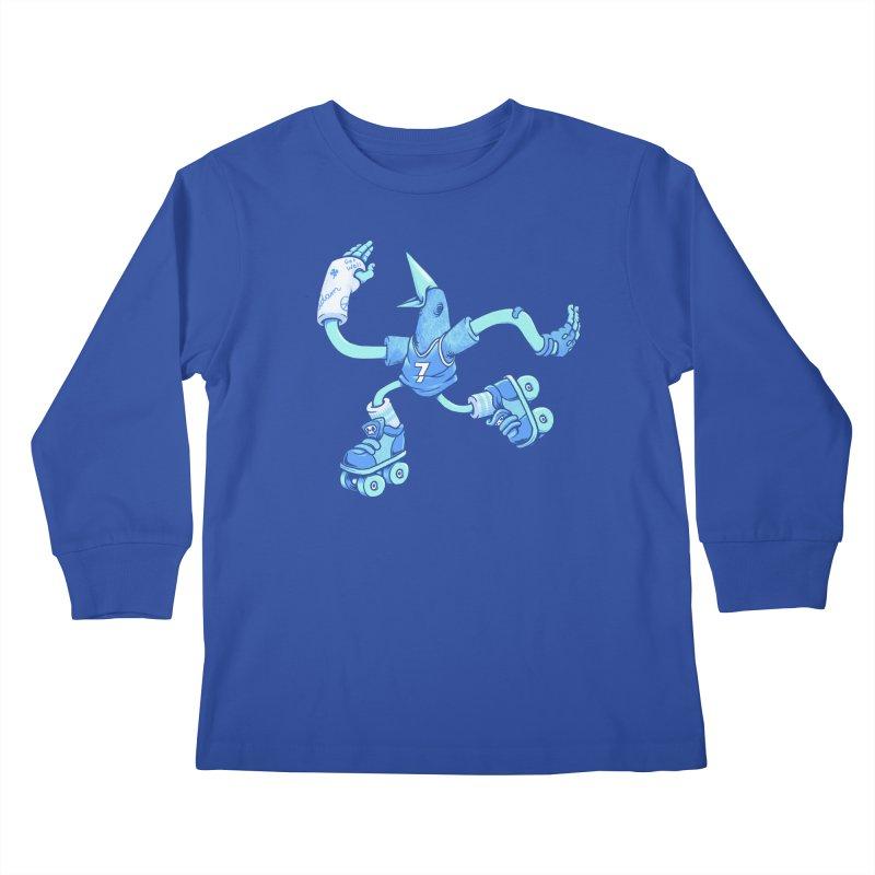 Skatebird Kids Longsleeve T-Shirt by Adam White's Shop