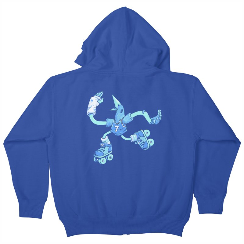 Skatebird Kids Zip-Up Hoody by Adam White's Shop