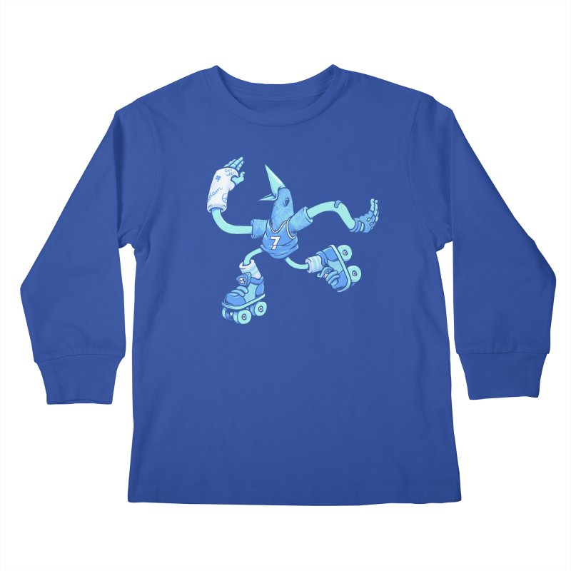 Skatebird Kids Longsleeve T-Shirt by Adam White's Shop