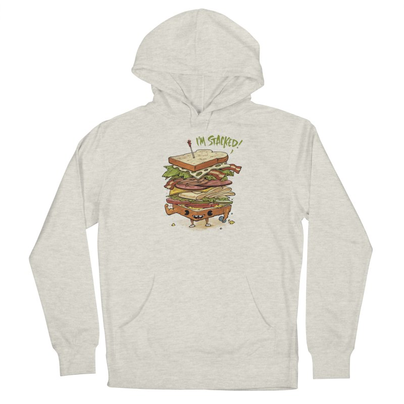 Totally Stack Men's Pullover Hoody by Adam White's Shop