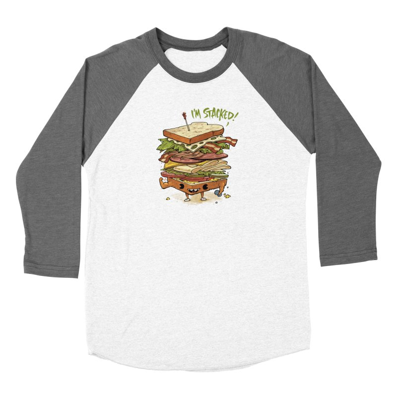 Totally Stack Men's Baseball Triblend Longsleeve T-Shirt by Adam White's Shop
