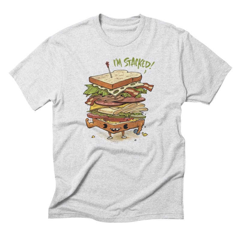 Totally Stack Men's T-Shirt by Adam White's Shop