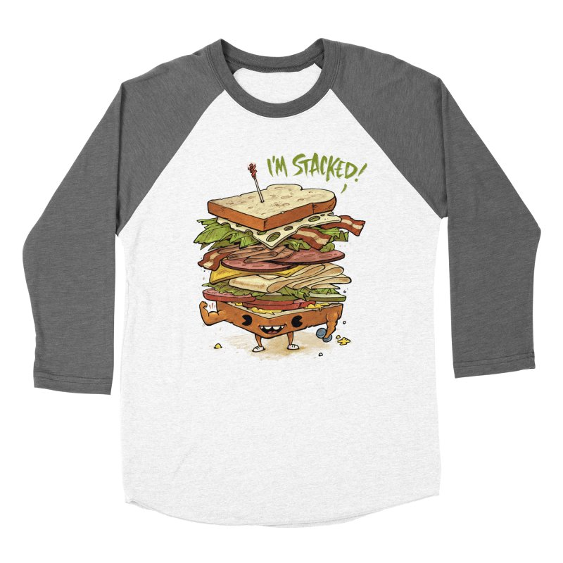Totally Stack Men's Baseball Triblend T-Shirt by Adam White's Shop