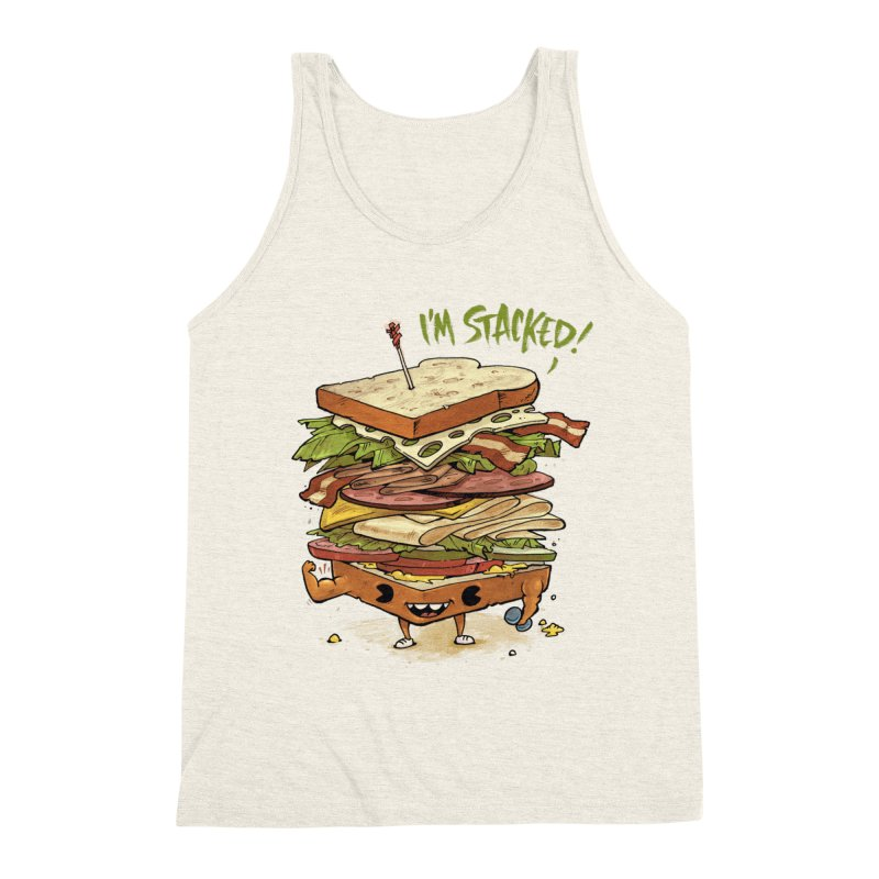 Totally Stack Men's Tank by Adam White's Shop