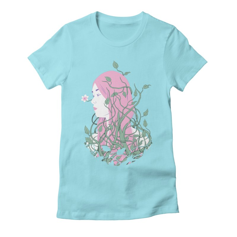 Waiting Women's Fitted T-Shirt by Adam White's Shop